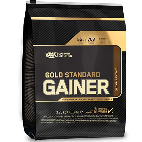 Optimum Nutrition Gold Standard Weight Weight Weight Gainer Mass Protein Powder 3.25kg - Straw 947a3b